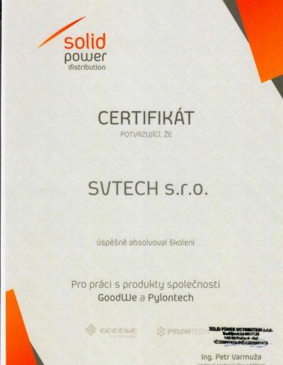 GoodWe und Pylontech Zertifikat